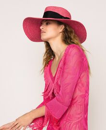 Wide brim straw hat Glam Rose Woman 201TO5400-0S