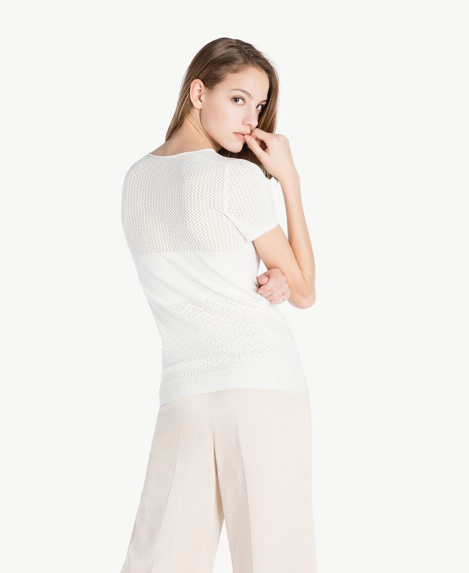 Pull viscose Ivoire Clair Femme TS832S-03