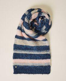 Écharpe à rayures multicolores Multicolore Rayé Bleu Femme 202MA4335-01
