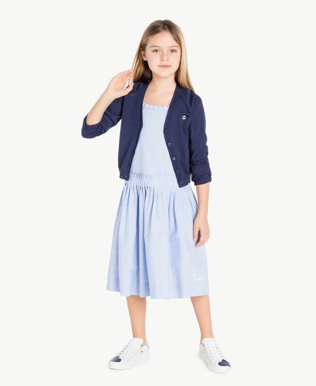 Bow cardigan Ocean Blue Child GS83AA-05