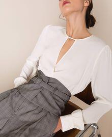 Glen plaid trousers Multicolour Glen Plaid Woman 201MP2062-04