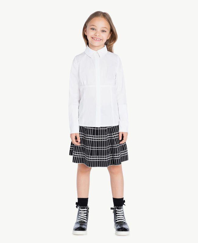 Poplin shirt White GA72TA-01