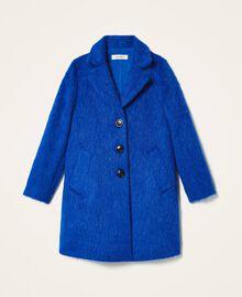 Пальто из сукна Темно-васильковый Pебенок 202GJ2840-0S