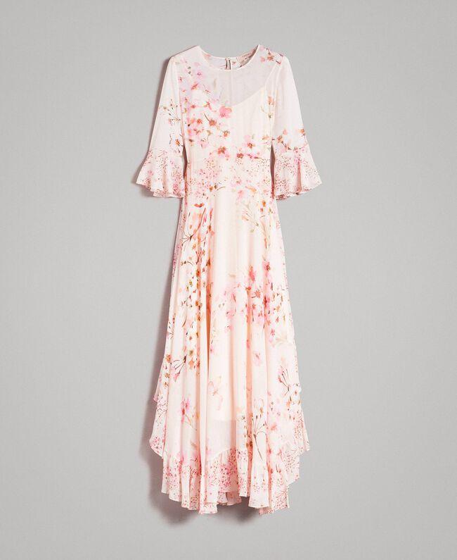 ce888806cce2 Floral georgette long dress