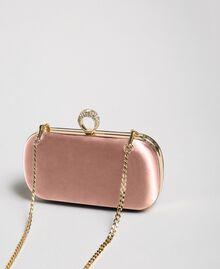 Satin clutch Dark Soft Pink Woman 192TQ706A-02