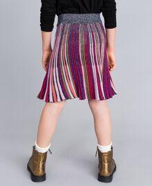 Jupe en lurex multicolore Multicolore Lurex Enfant GA83KQ-03