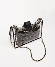 Grand sac à bandoulière avec pochette Blanc Femme 201TA7181-03