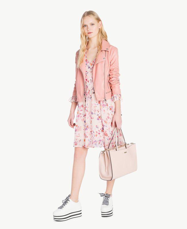 Perfecto similicuir Misty Pink Femme JS82CC-05
