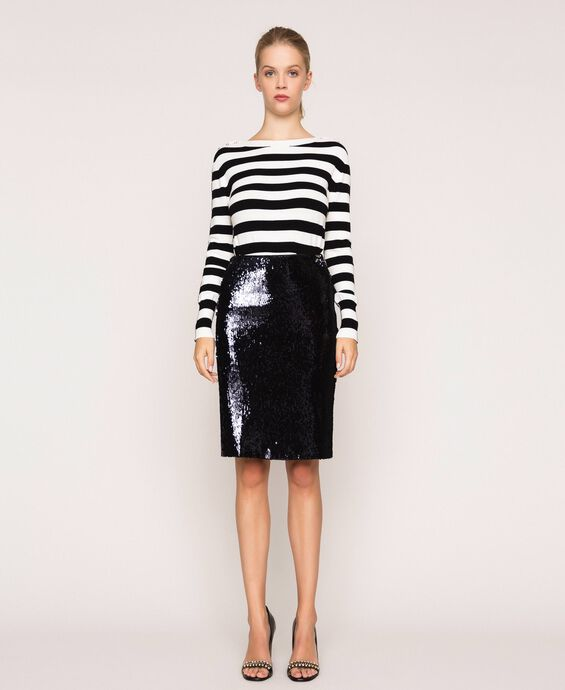 Full sequin sheath skirts