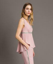 """Top mit Pailletten """"Pink Bouquet"""" Pink Frau 191LB2LEE-02"""