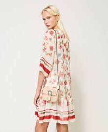 Маленькая сумка через плечо Rebel с ювелирной пряжкой Вишня женщина 202TB7140-0S