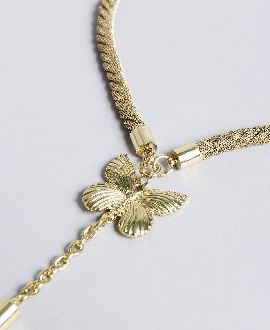 Collana in metallo e pendente Ottone Donna OA8T7M-01