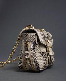 Petit sac à bandoulière Rebel avec imprimé python Imprimé Python Roche Femme 192TO7231-03