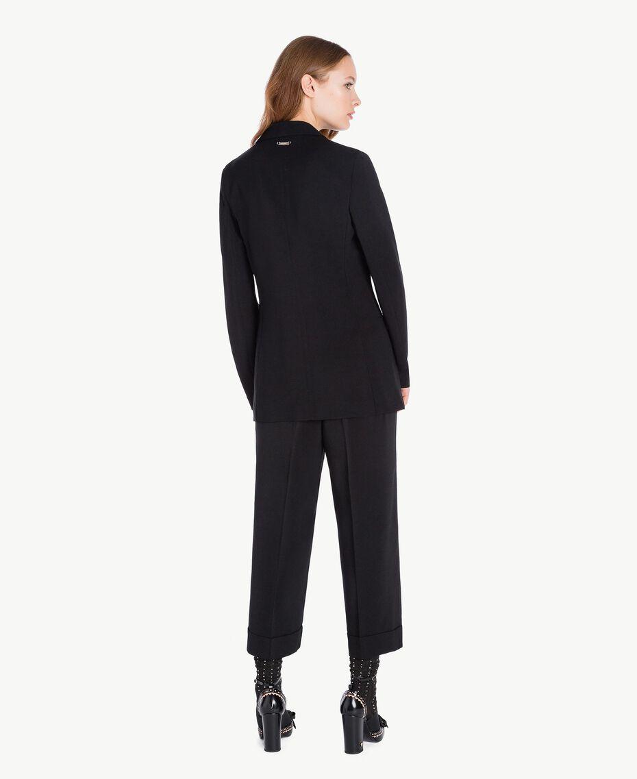 Pantalon cropped Noir Femelle PA72TB-03