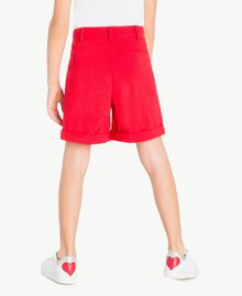 Cotton shorts Pomegranate Red Child GS82HN-04