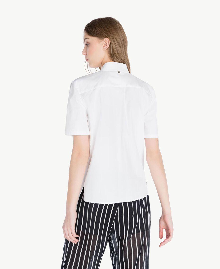 Chemise coton Blanc Femme TS8211-03