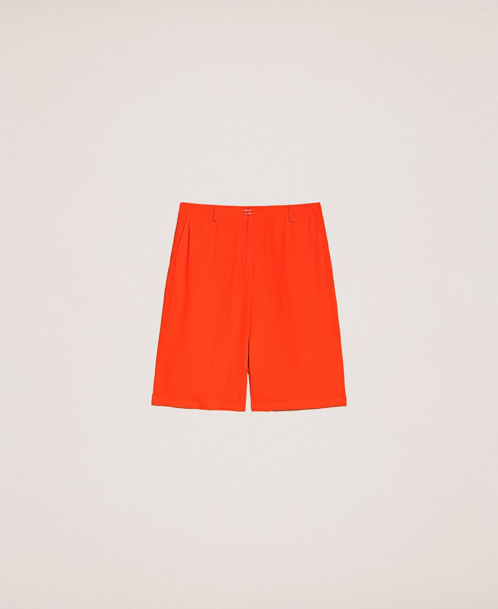Georgette Bermuda shorts