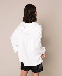 Maxi pull avec logo Lys Femme 201MP3210-04