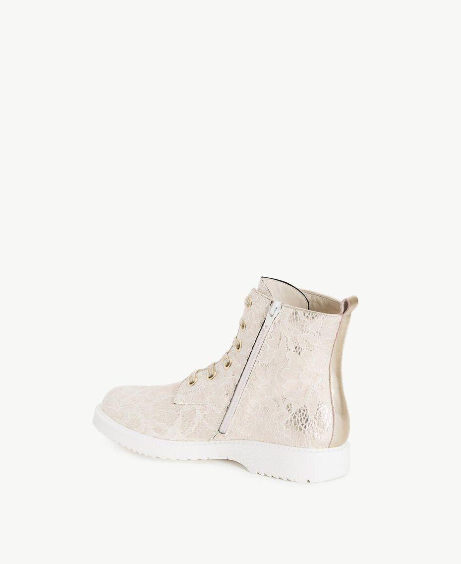 TWINSET Boots dentelle Chantilly Femme CS8TBS-03