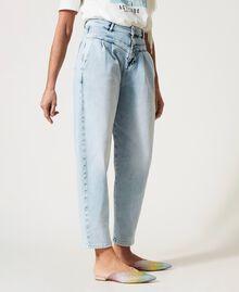 High waist jeans Light Denim Woman 211MT2580-02