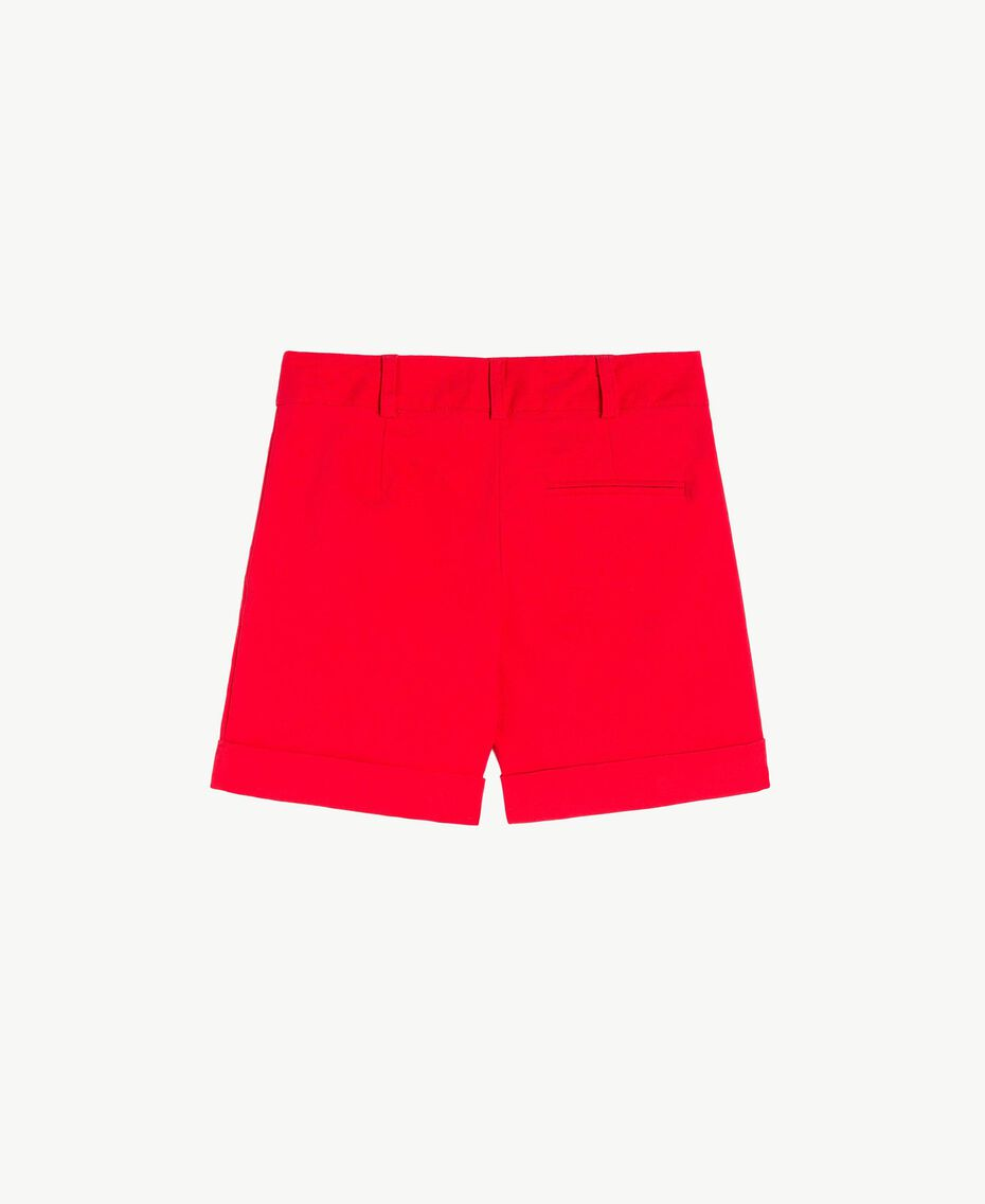 Turn-up shorts Pomegranate Red Child FS82HN-02