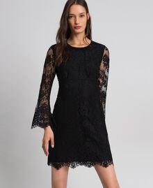 Robe courte en dentelle Noir Femme 192LI21EE-02
