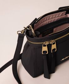 Small faux leather New Cécile bag Black Woman 201TO8181-04