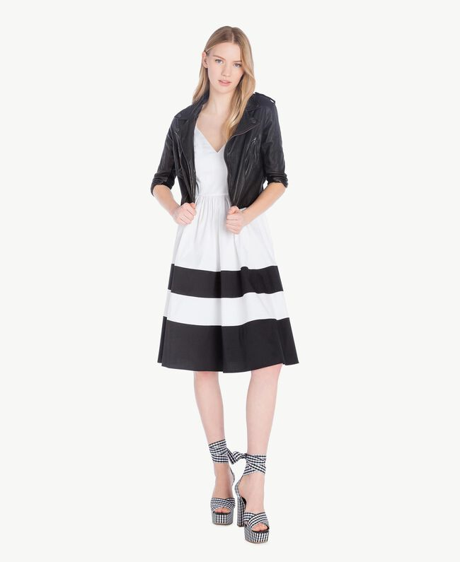 Perfecto cuir Noir Femme YS82JG-05