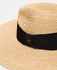 Wide brim straw hat Straw Woman 201TO5400-02
