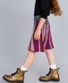 Jupe en lurex multicolore Multicolore Lurex Enfant GA83KQ-02