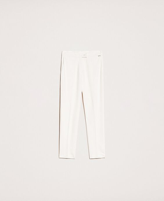 Pantalon cigarette avec poches