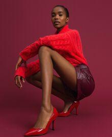 Escarpins vernis Rouge Coquelicot Femme 192MCP038-0S