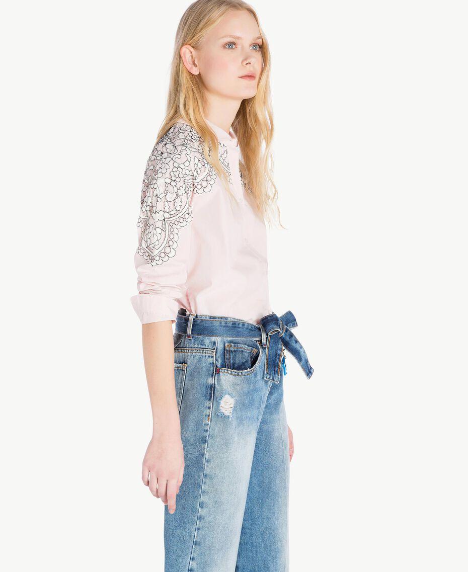 Lace shirt Quartz Pink Woman JS82D2-02