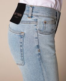 Jeans tomboy con rotture Denim Blue Donna 201MP2274-04