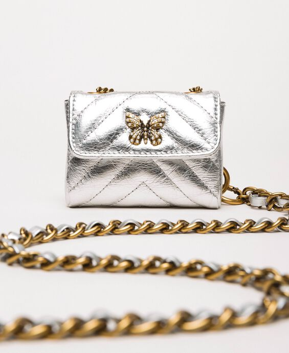 Belt with chain and purse