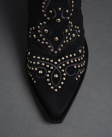 Studded ankle boots Black Woman 192MCP016-05