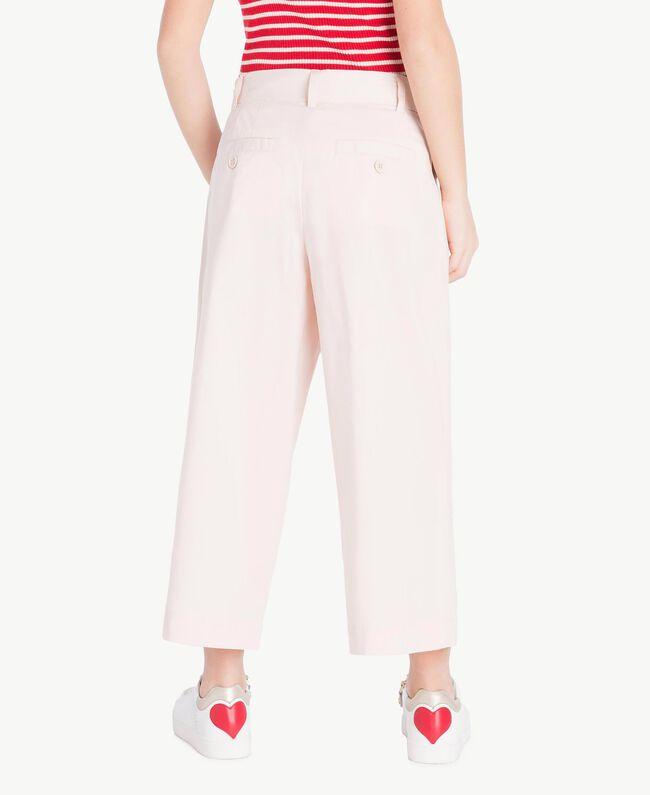 Poplin trousers Bud Pink Child GS82QQ-04