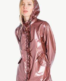 Parka ruches Rose «Pétillant» Femme JS821B-04
