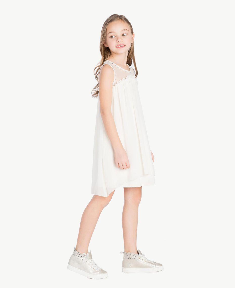 Kleid mit Stickerei Chantily Kind GS82B1-03