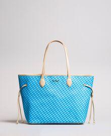 Shopper mit Schmetterlingsprint Motiv Pearl Pink Schmetterlinge Frau 191TA7172-02