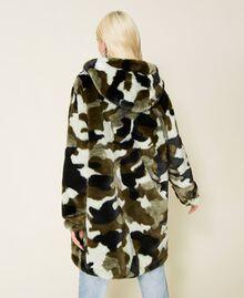 Piumino reversibile camouflage Jacquard Camouflage Donna 212AP2021-04