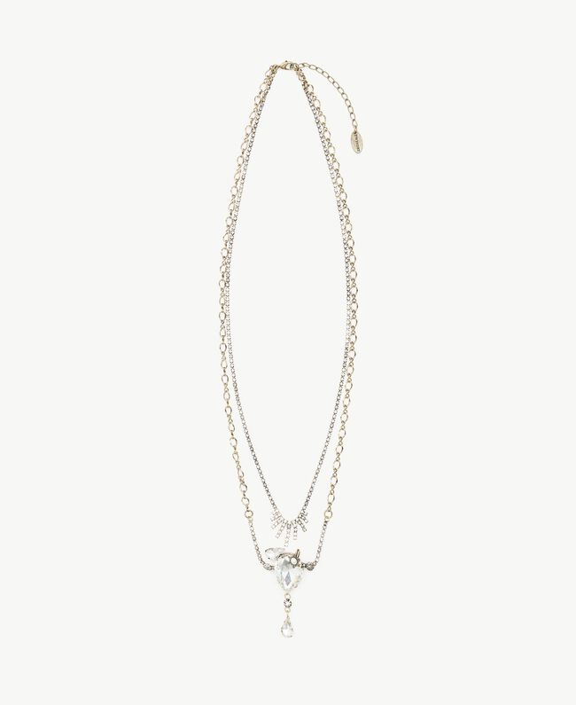 Collier strass Cristal Femme AS8P7C-01