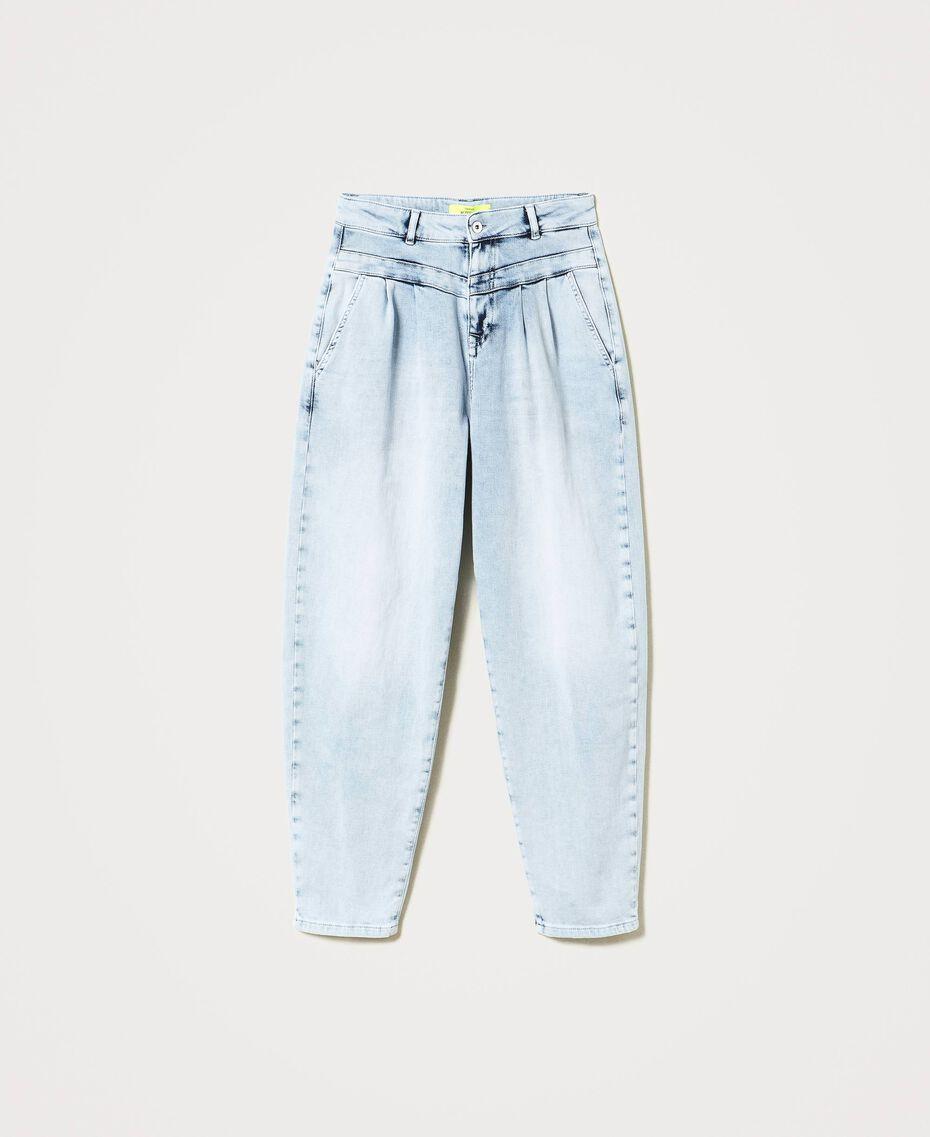 High waist jeans Light Denim Woman 211MT2580-0S