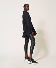 Blouse en popeline Noir Femme 202MP2062-01