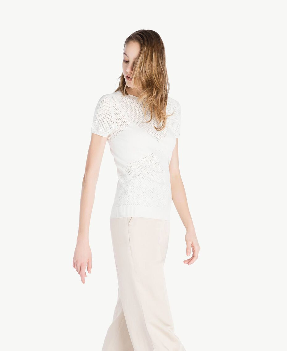 Pull viscose Ivoire Clair Femme TS832S-02