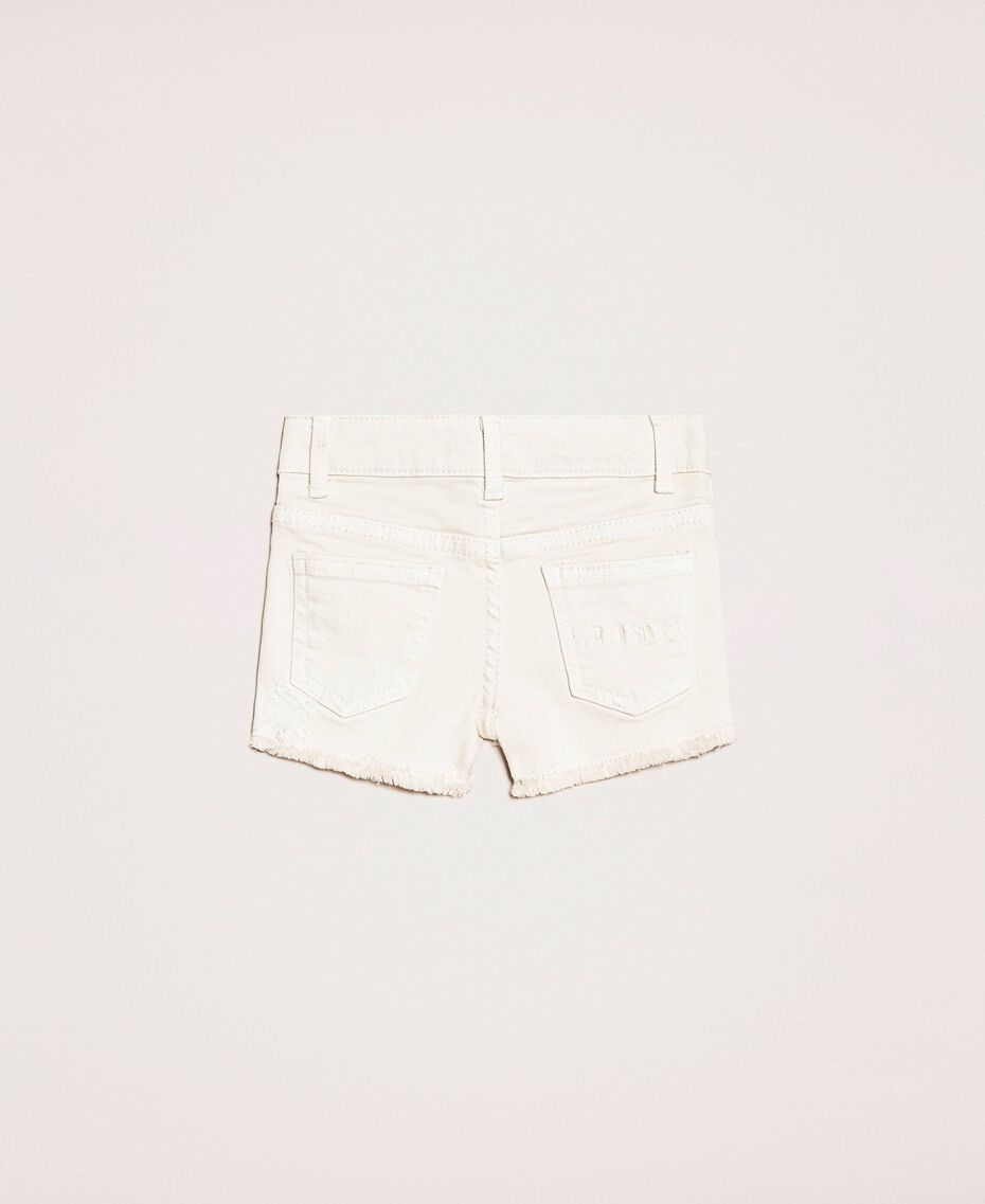 "Ripped shorts ""Calypso Coral"" Red Child 201GB2031-0S"