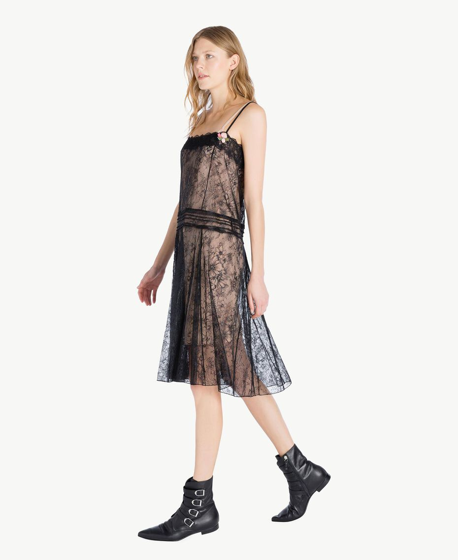 Lace dress Black Woman PS821G-02