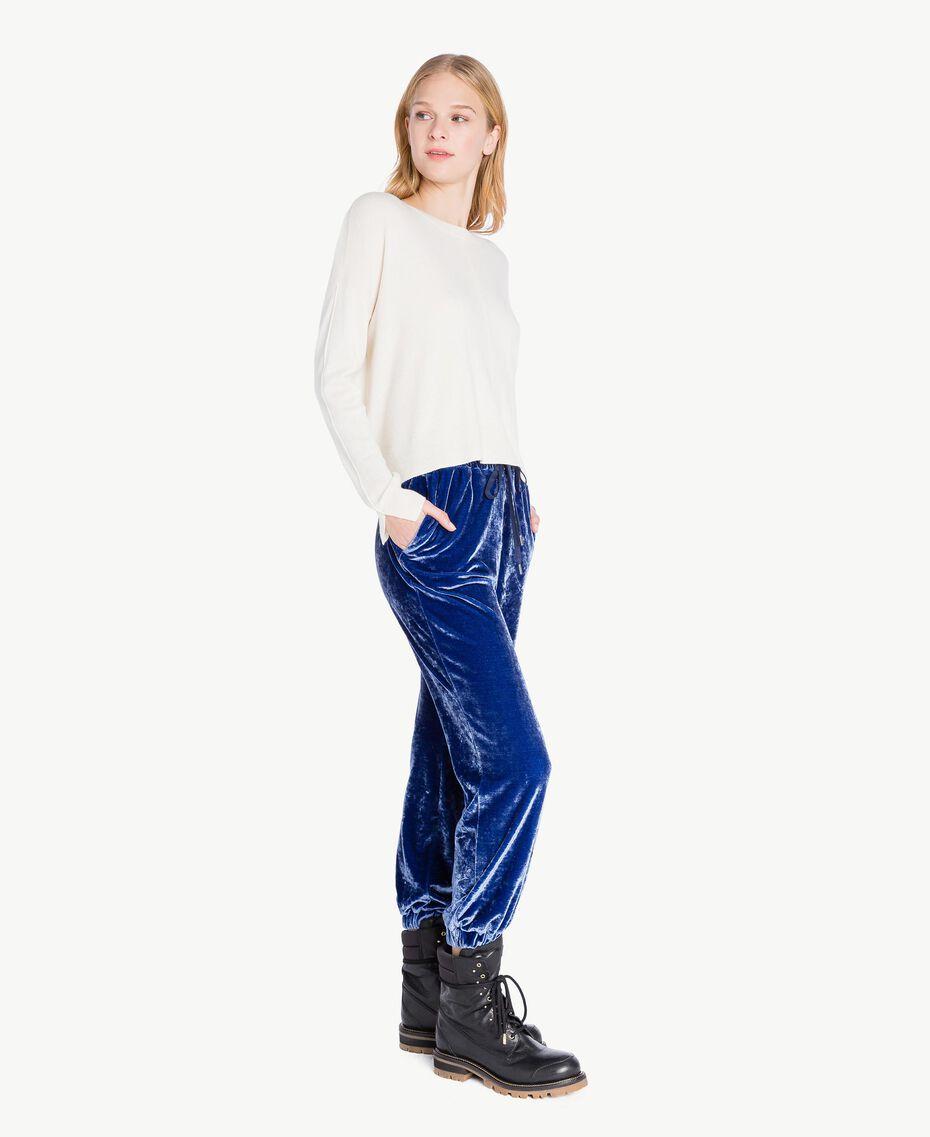 Pantalon velours Bleu Bleuprint TA721J-02