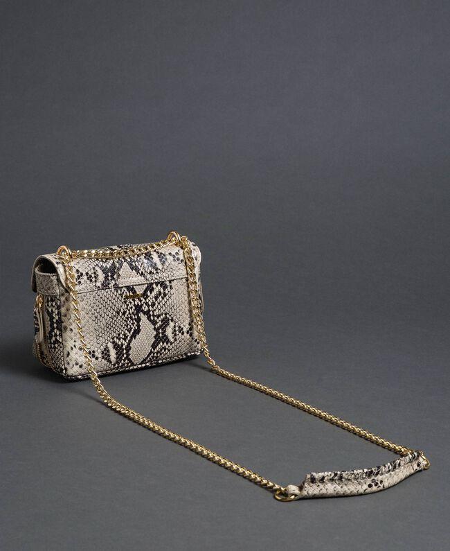 Petit sac à bandoulière Rebel avec imprimé python Imprimé Python Roche Femme 192TO7231-04