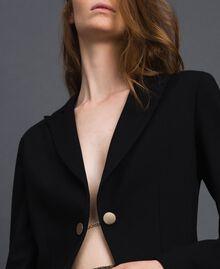 Blazer asymétrique Noir Femme 192MT2281-05